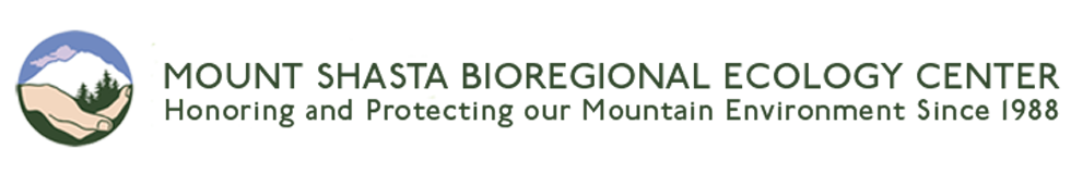 Mt Shasta Bioregional Ecology Center Logo